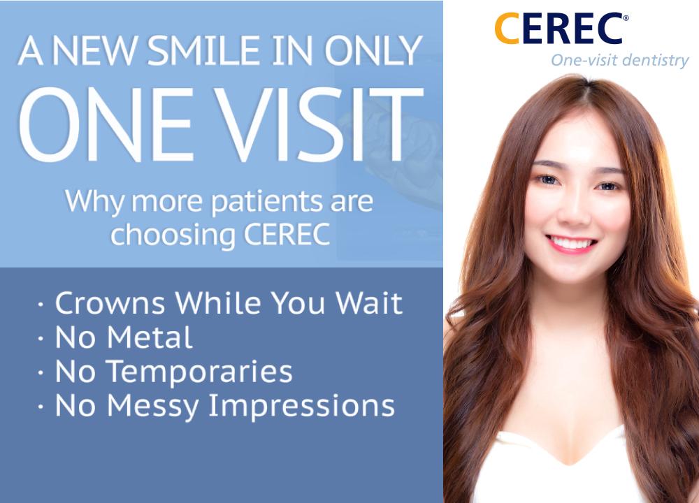 CEREC One-Visit Dentistry