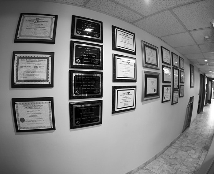Pacific Dental Care Office Hallway