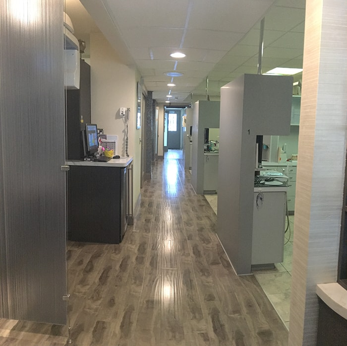 Pacific Dental Care Office Hallway 2