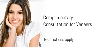 Complimentary Consultation for Veneers